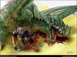 Monster Hunter by AsellusKamijo