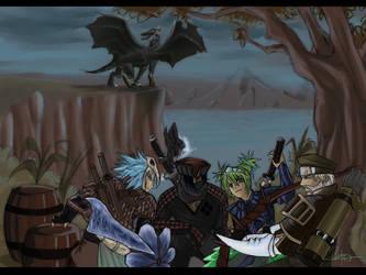 Monster Hunter 2 by AsellusKamijo