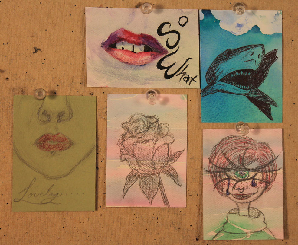 A Few ATCs by MitranarChaos