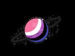 Genderfluid Pride Planet