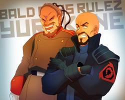 Yuri and Kane