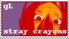 Stray Crayons Stamp by yokomolotov
