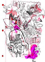 automatic drawing by yokomolotov