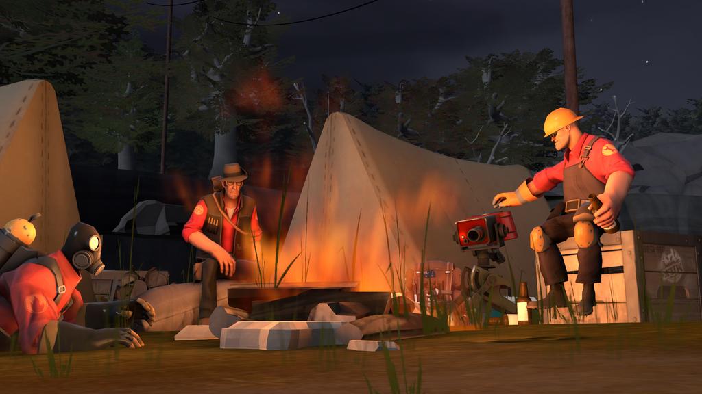 Happy Campers by herrerarausaure