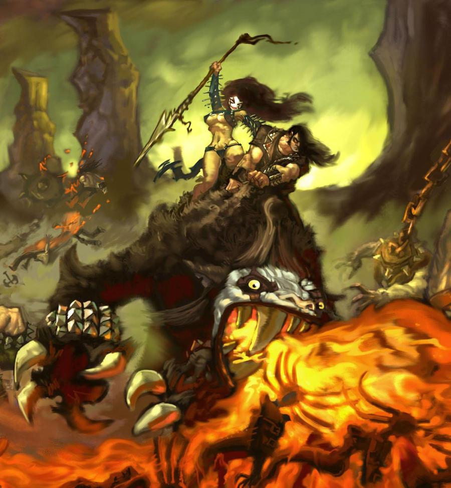 Metal Beast 'Brutal Legend' by TheKillmaster
