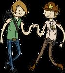 the Walking Dead - Brofist