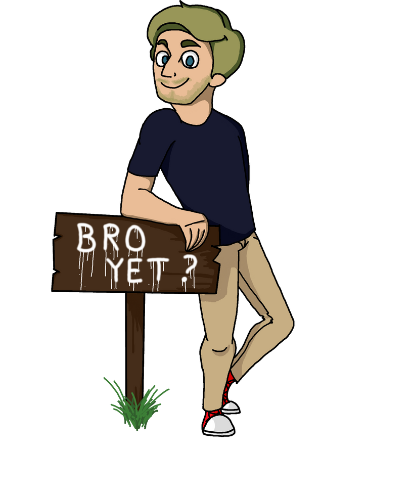 Pewdiepie - BRO YET? by Dragon-Flash