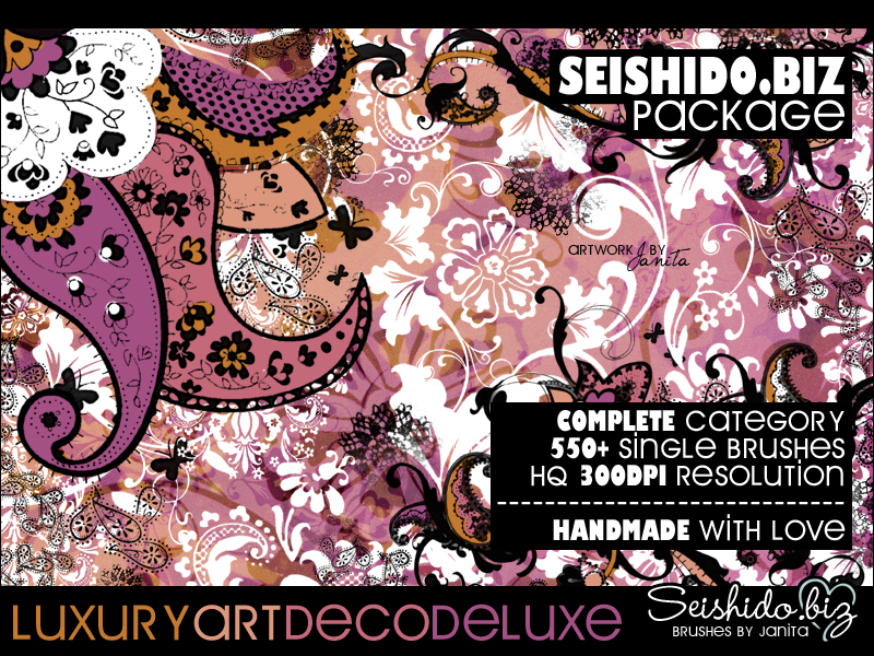 Decorative Ornaments by seishido