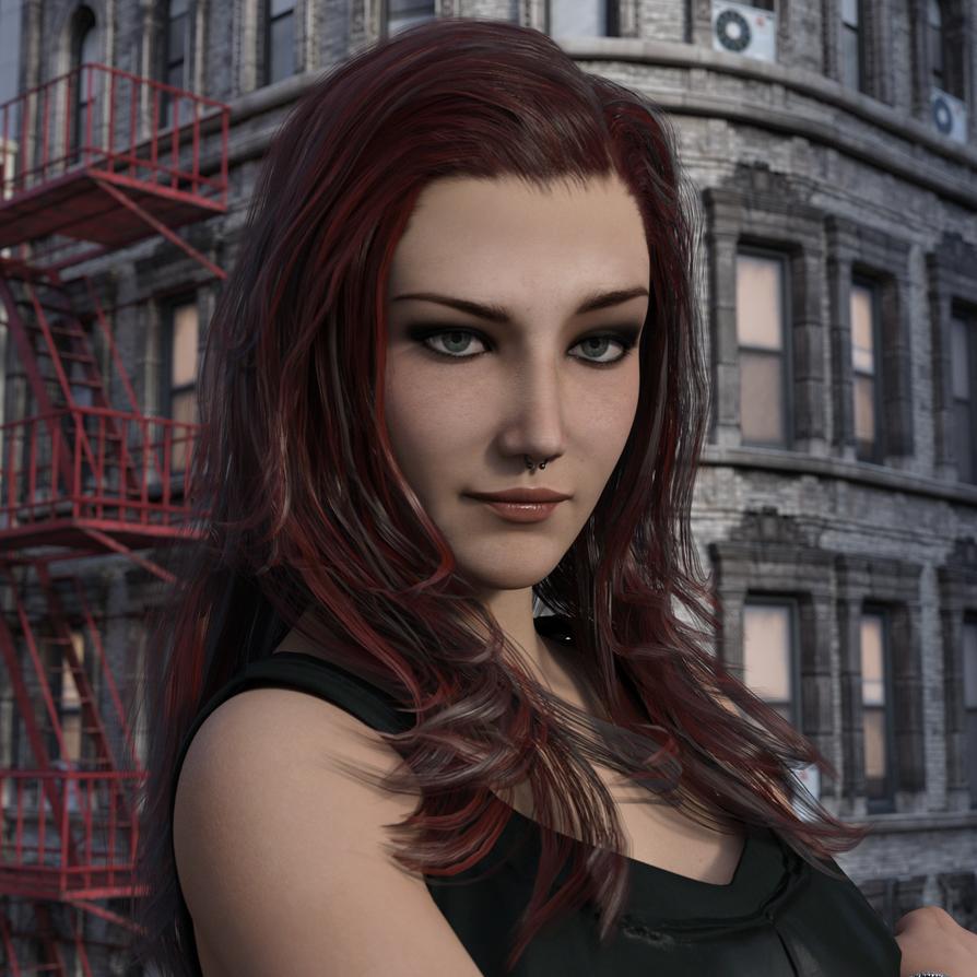 Portrait of a Giantess by CaddyIsRaddy on DeviantArt