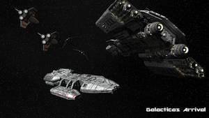 Galacticas Arrival