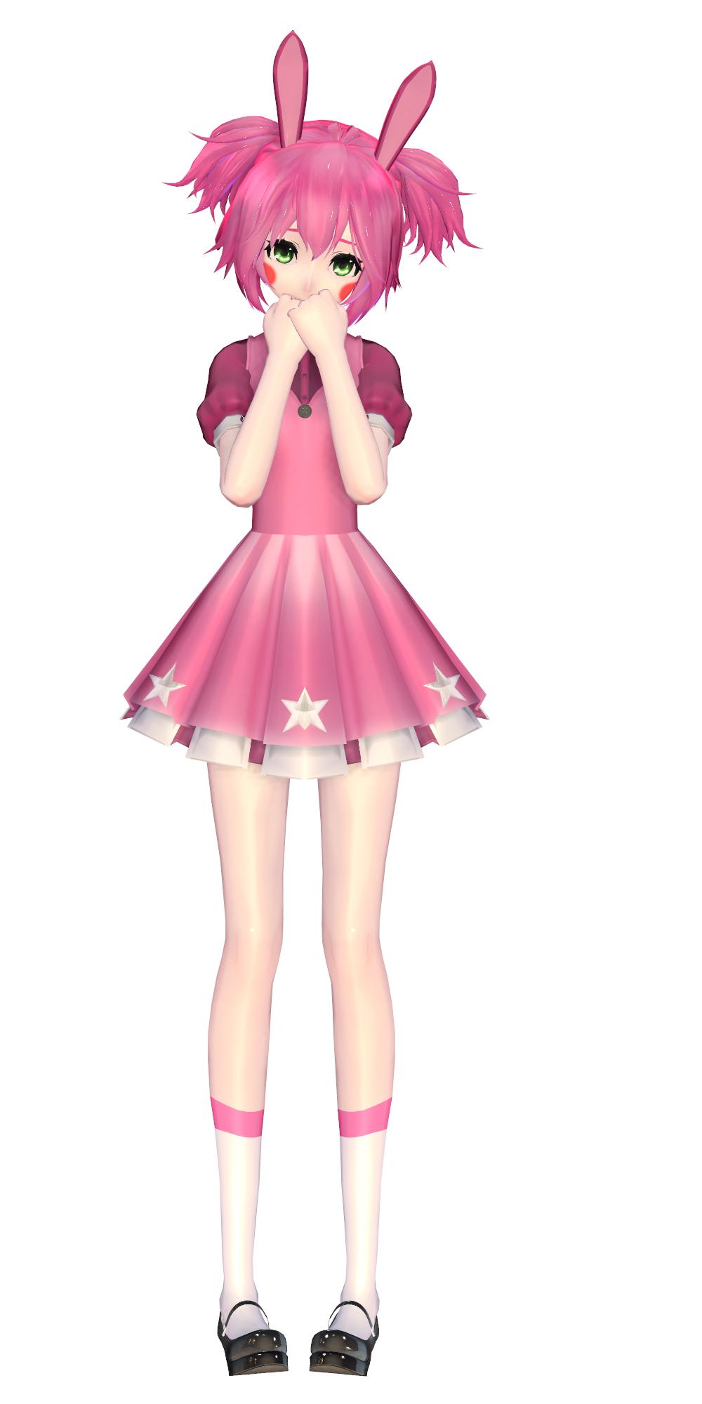 [MMD] Little shy Bonnet by yuyuchanHD on DeviantArt