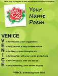 Venice's Name Poem! by Ask-Venice-Italy