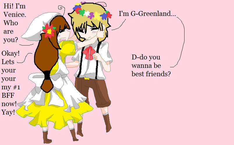 When Venice Met Greenland