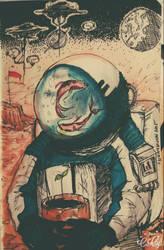 The Astronaut  by Sunnymoonz