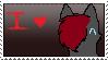 I love Dragon (Stamp) by MynameisDragon