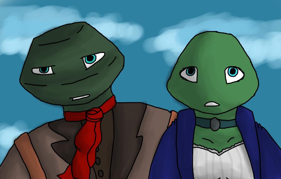Booker and Elizabeth by MynameisDragon