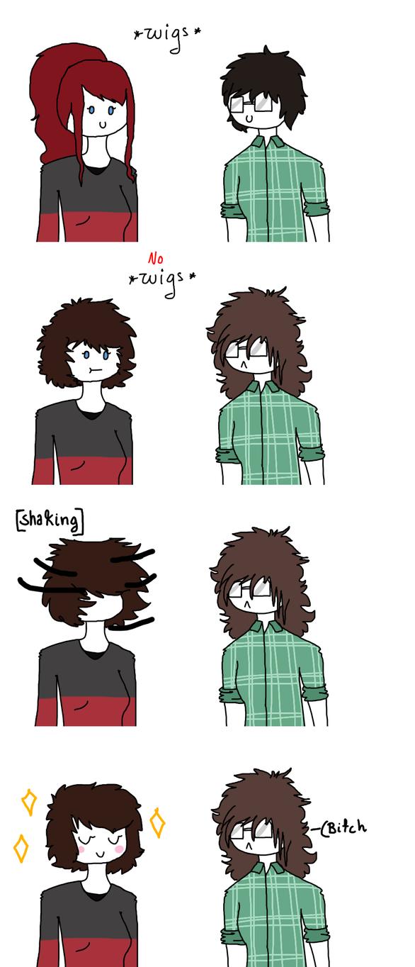 Good things with short hair by MynameisDragon