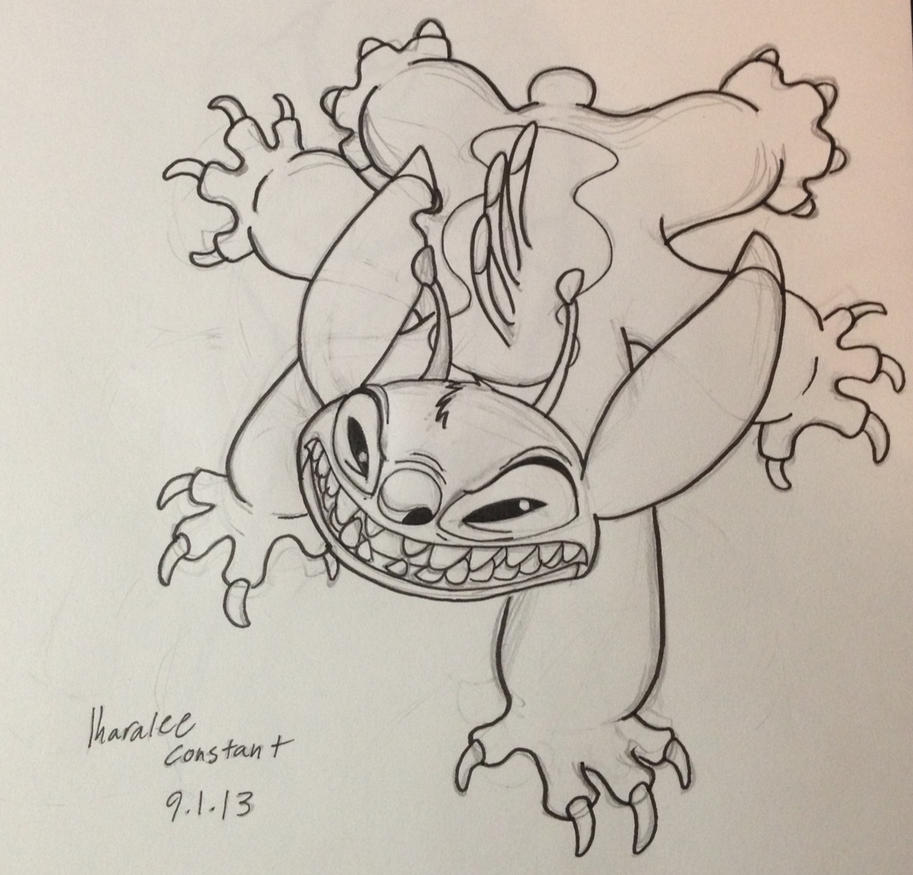 Angry Stitch by KuskitasewMayekan on DeviantArt