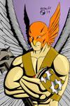 Hawkman by ArtSpillGalaxy