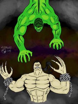 Hulk vs. Pitt