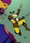 Wolverine vs. Sentinel