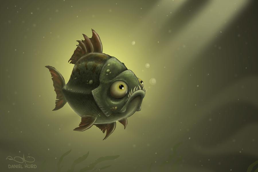 Swamp Fish by DanielHurd on deviantART