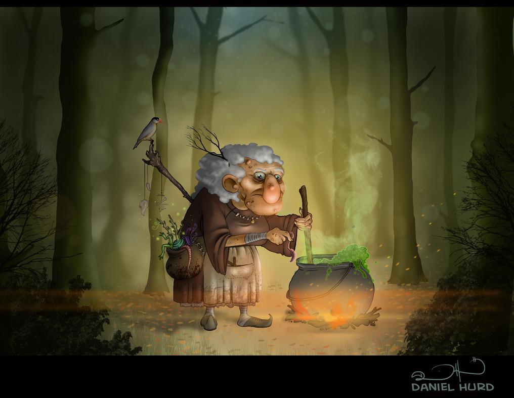 Woodland Witch by DanielHurd