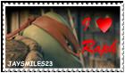 I Love Raph Stamp by JAYSMILES23