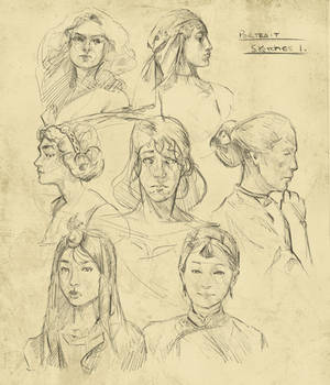 Face sketches (more)