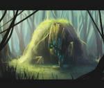 A hidden Golem