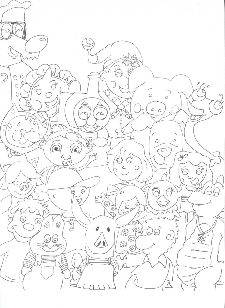 sprout character coloring pages - photo#21
