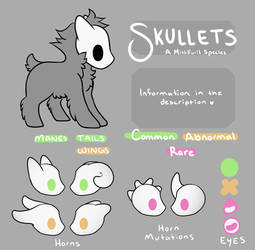 Skullet OPEN Species Sheet