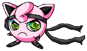 Solid Jigglypuff by Metalkirby