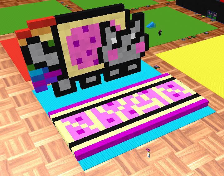 ROBLOX Nyan Cat By Ice-Artz On DeviantART