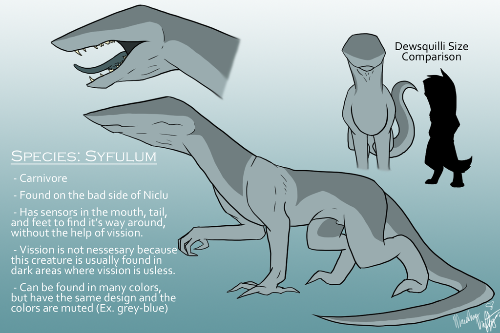 New Planet Niclu Species: Syfulum by Ice-Artz