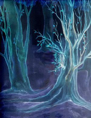Dark Woods by RebeccaTripp