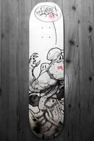 Skoyp's skate board_2010_B by duster132