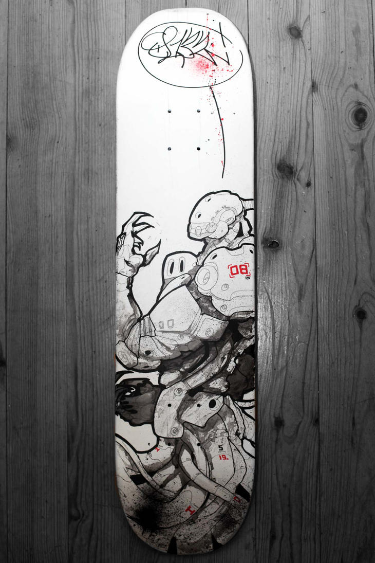 Skoyp's skate board_2010_B by duster132