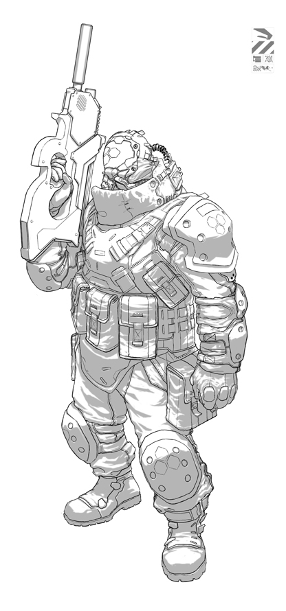 NBC Unit WIP by duster132