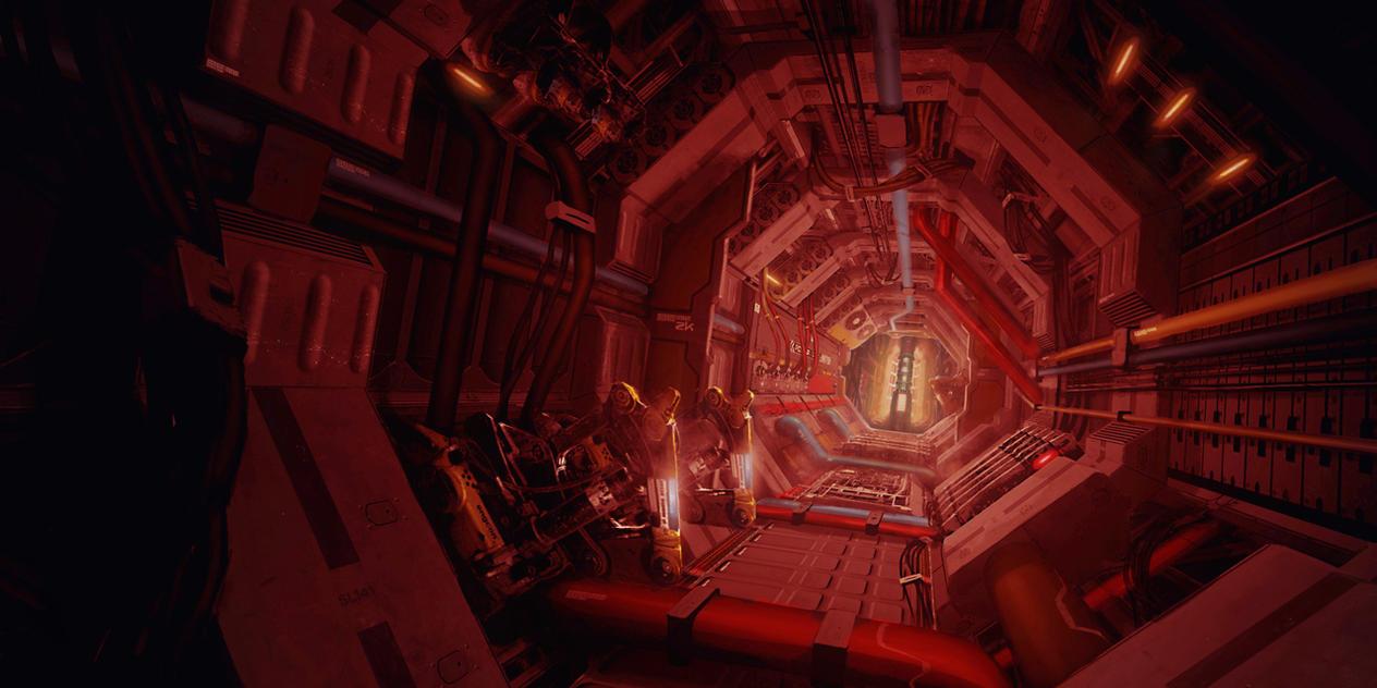 Destroyer MK3 Corridor by duster132