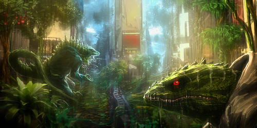 Lizard City by duster132
