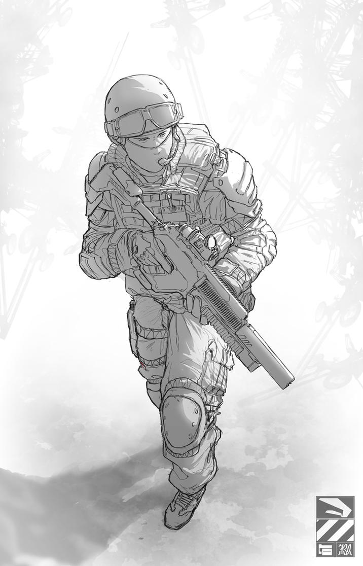 Doodle Soldier 02 by duster132