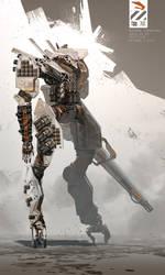 AFUHNK Combat Mech. Final version. by duster132