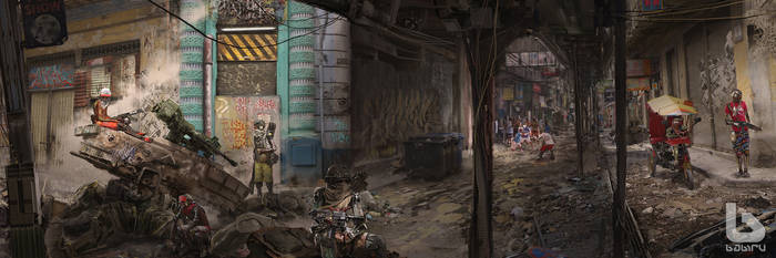 Babiru 38 favela streets