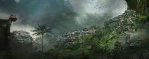 Treetop village