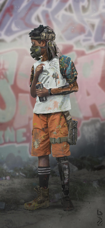 Babiru Kid 02 by duster132