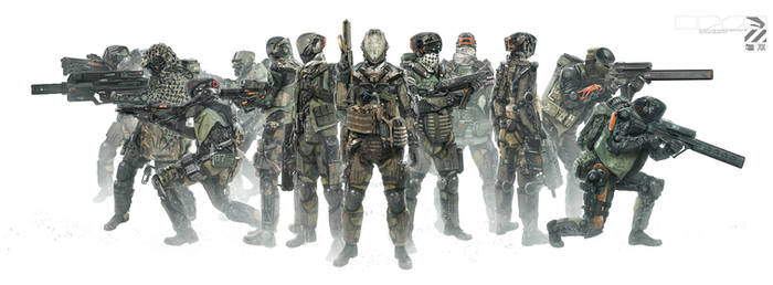 132 Exo Squadron by duster132