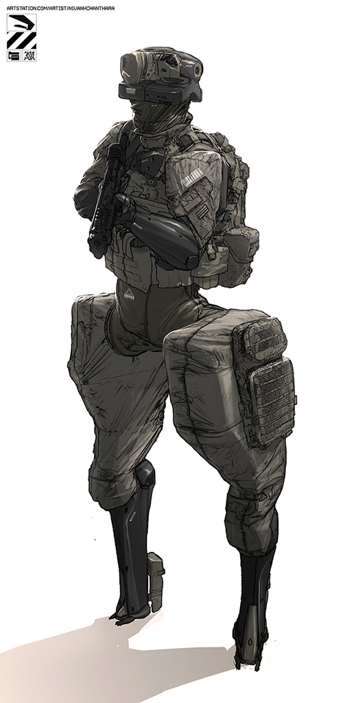 Drone soldier. by duster132