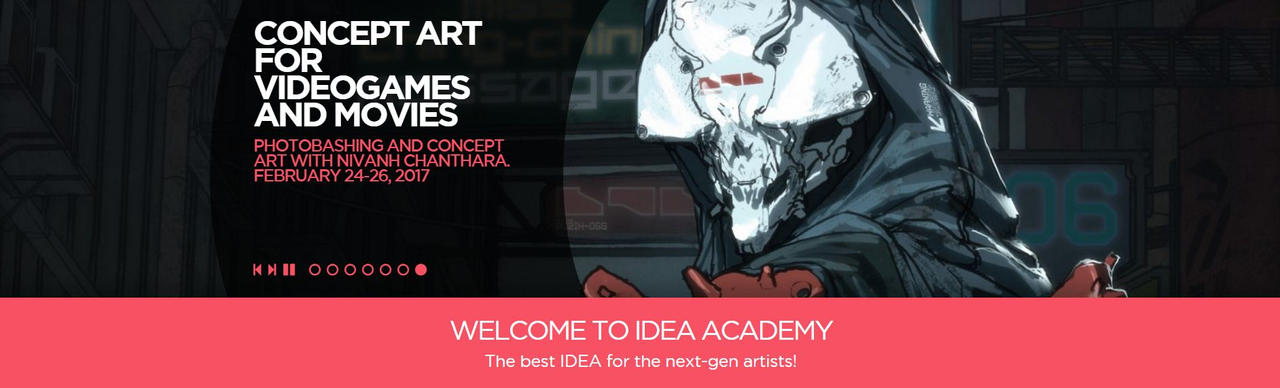 Class at Idea Academy Italy (Rome) by duster132