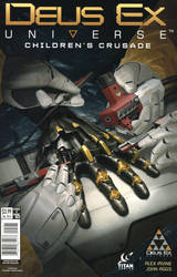 Deus Ex Comic Cover. by duster132